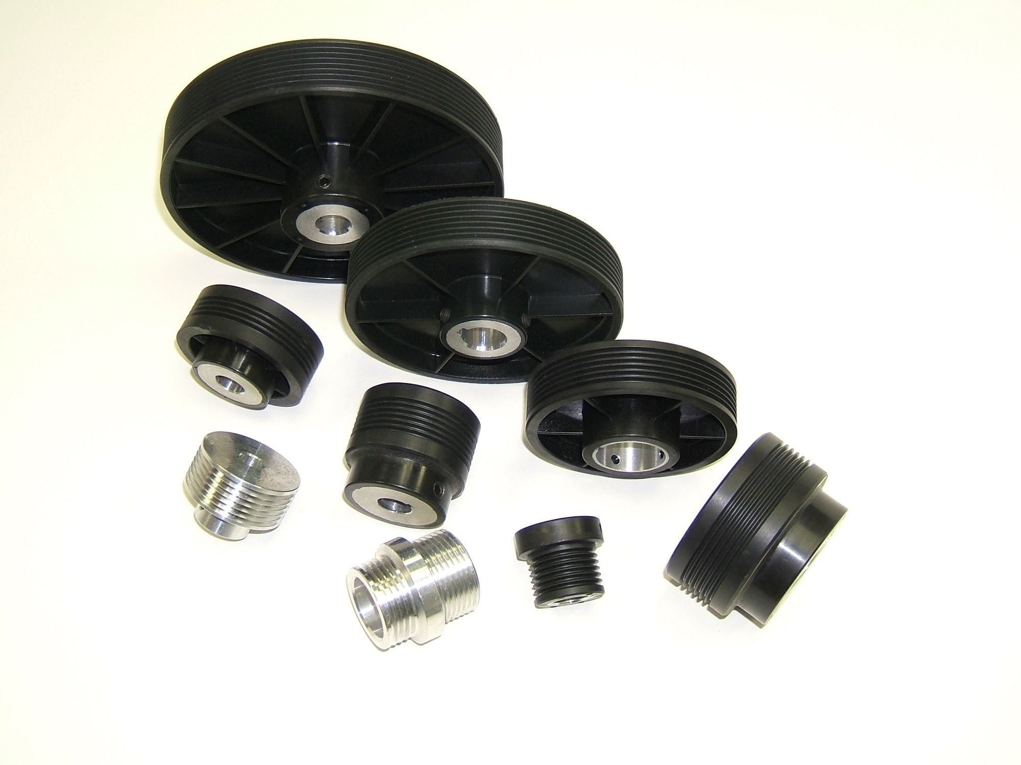 Groove pulley / ribbed belt - Torque Transmission