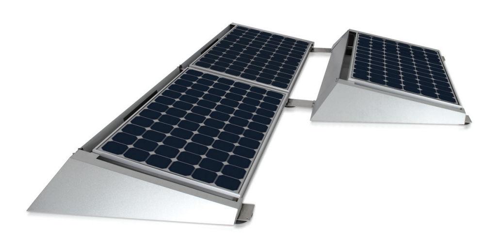 Monocrystalline Silicon Photovoltaic Solar Panel / Roof Mount   Max. 124.3  W/m² | T10 Series
