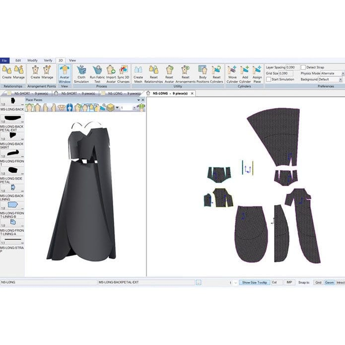 3D Clothes Design Software | Design Software For The Clothing Industry 3d Accumark 3d