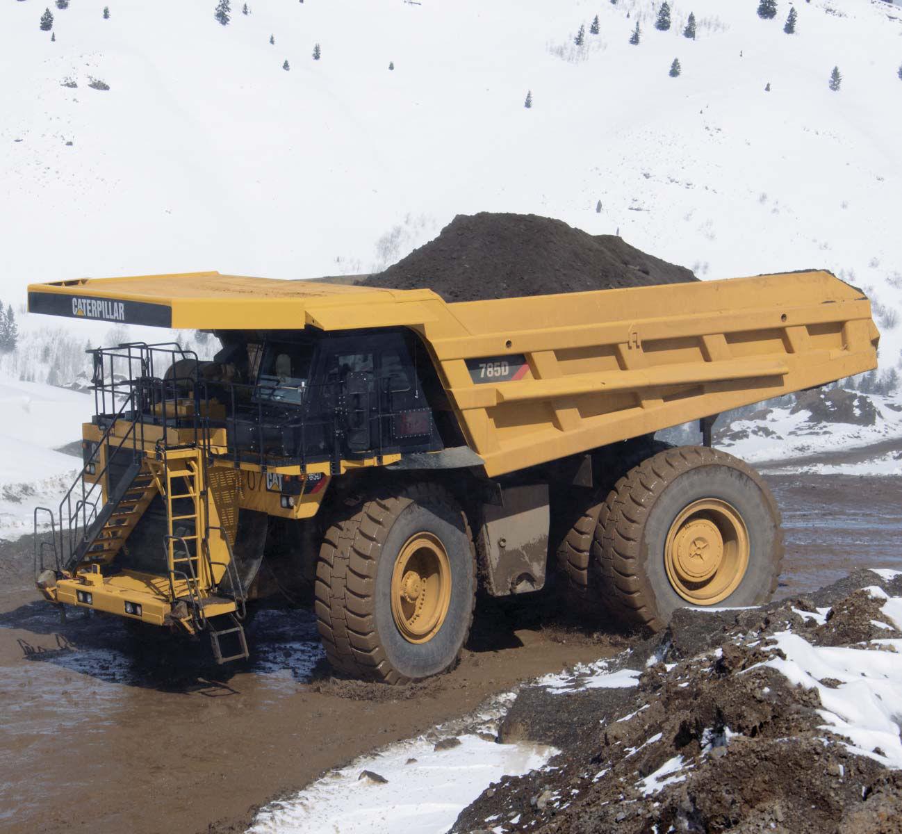 cat dump truck motor - igid dump truck / diesel / mining - 785D - aterpillar Global Mining