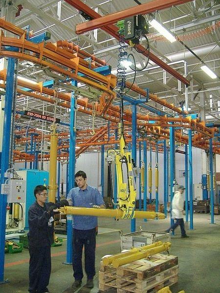 Pipe materials handling clamp / for bars - Scaglia Indeva