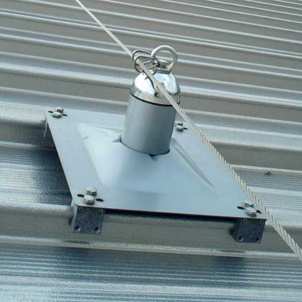 Roof Fall Arrest Anchor   ManSafe
