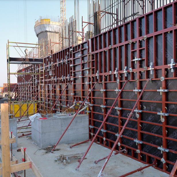 Wall formwork / column / shaft / steel P300 PILOSIO GROUP S p A