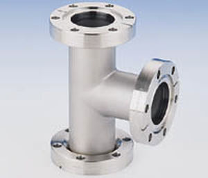 Flange Fitting T Pneumatic Stainless Steel