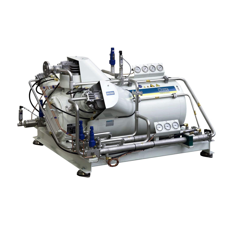 Oxygen compressor / stationary / electric / piston - HAUG Sirius