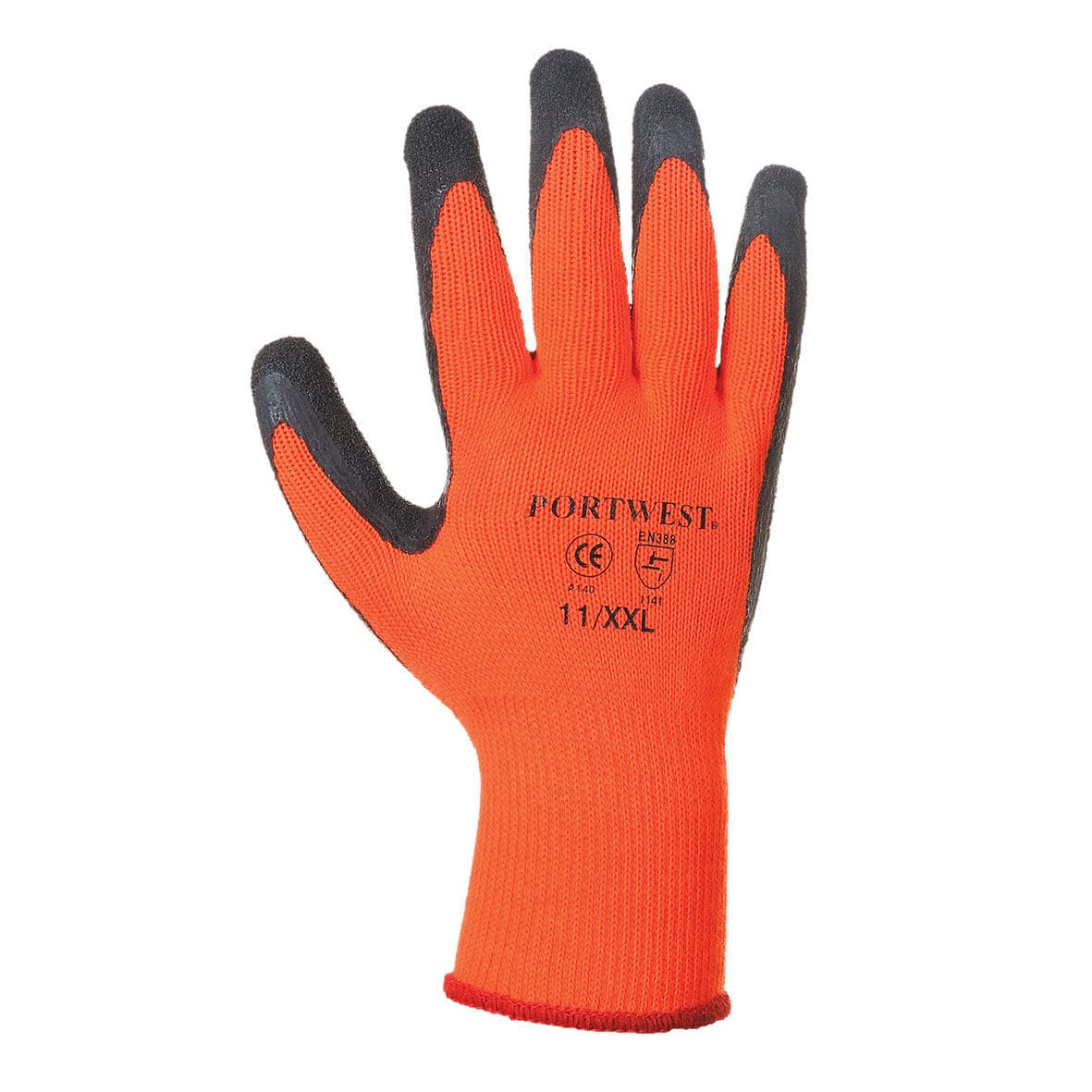 Thermal leather work gloves - Work Gloves Thermal Protection Latex Fabric A140