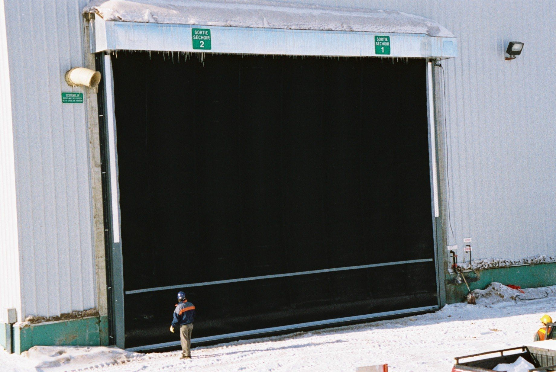 roll-up door / hangar / industrial & Roll-up door / hangar / industrial - TNR Industrial Doors - Videos