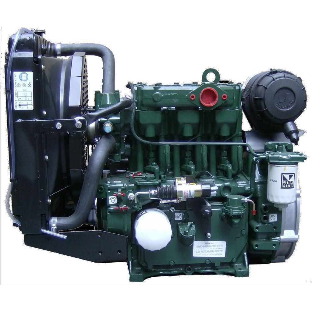 diesel engine / 3-cylinder / direct injection / power generation - LPW3  series
