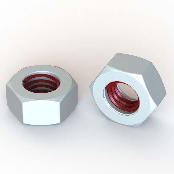 Self-locking nut / steel / stainless steel - Filtec-nut 900