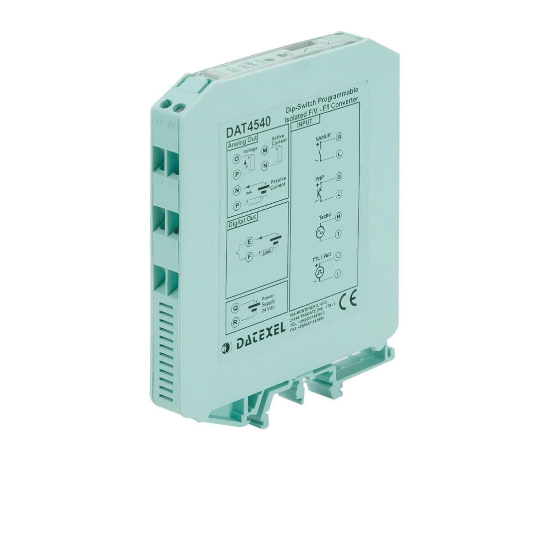 Analog converter / digital / frequency / 1 analog input - DAT4540 ...