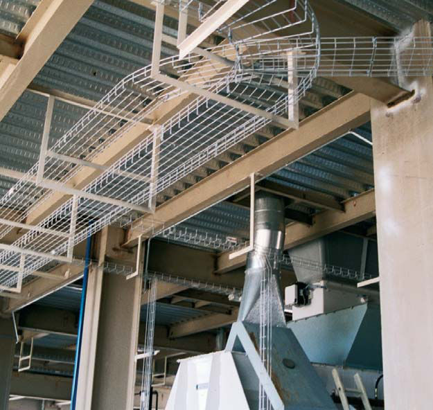 Wire basket cable tray - REJIband series - Arnocanali