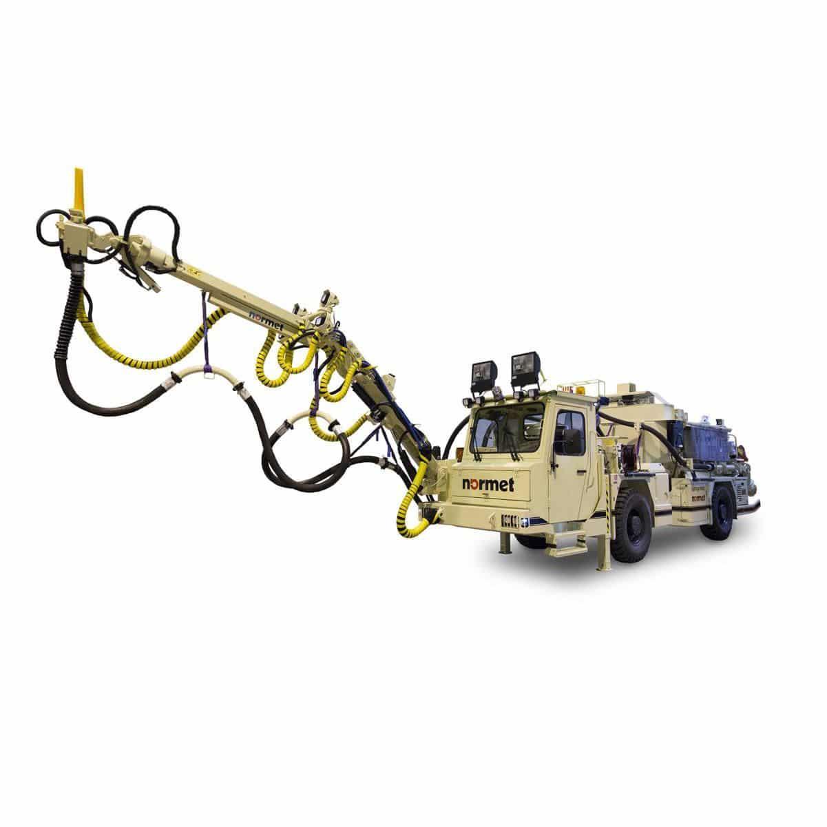 Concrete spraying machine / articulated arm - Spraymec MF