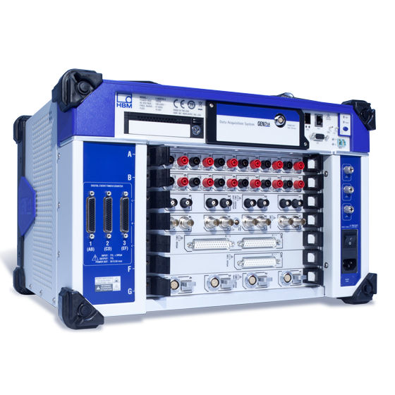 Paperless recorder / transient / Ethernet / portable - GEN7tA - HBM