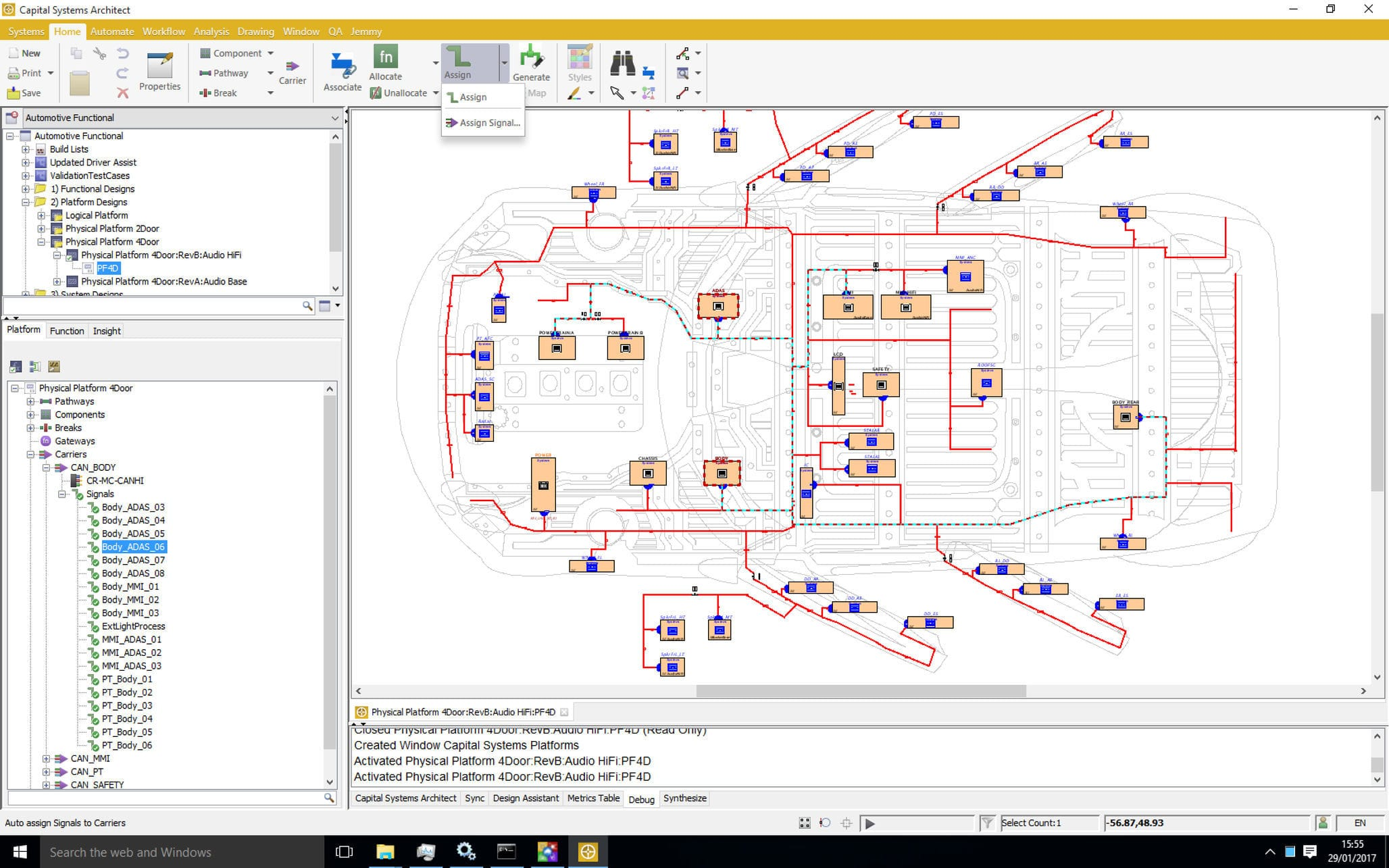 Electrical schematics software / schematic drawing / for automotive ...