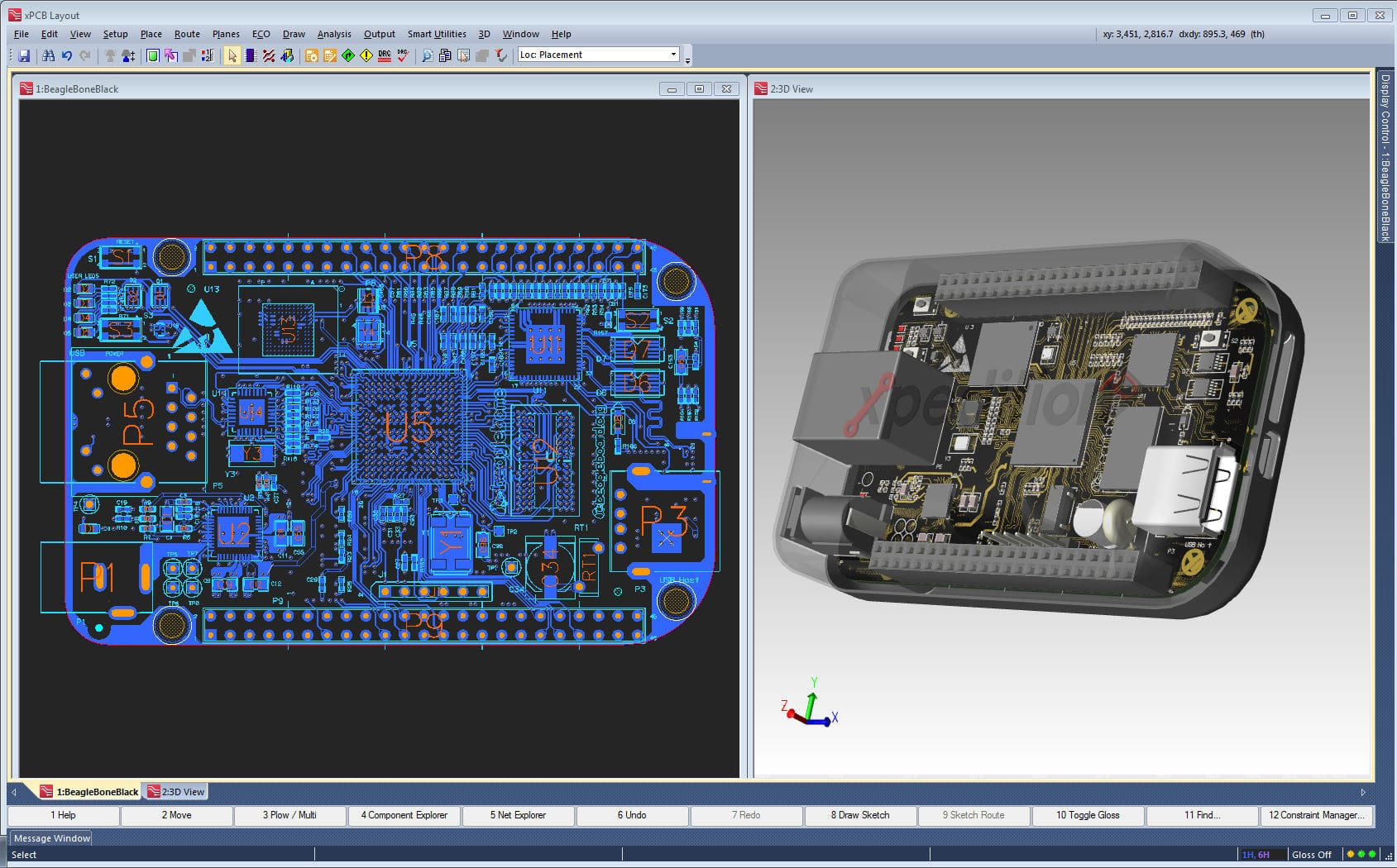 Electrical CAD software / mechanical CAD - Xpedition® xPCB MCAD ...