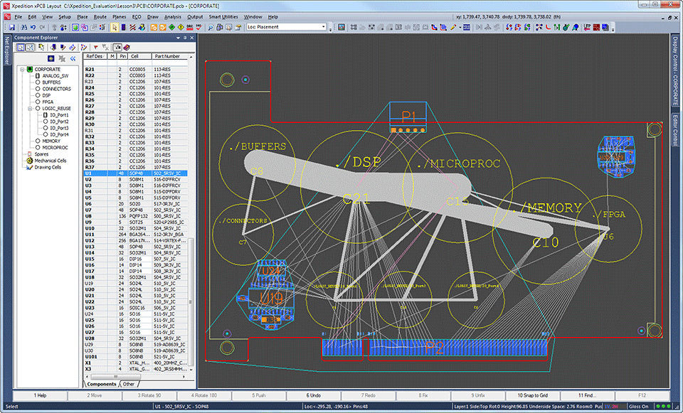 Design software / schematic drawing / for PCB - Xpedition® xPCB ...