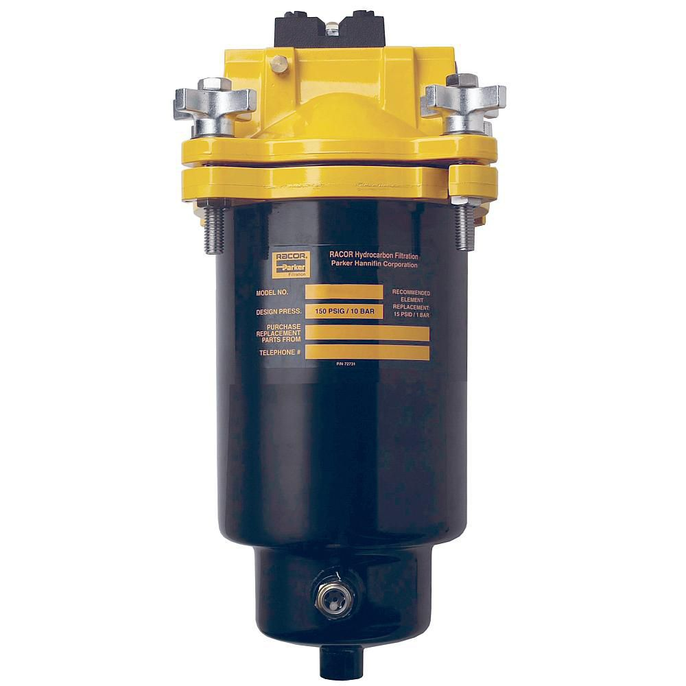 fuel filter / cartridge / industrial / for marine engine - FBO series