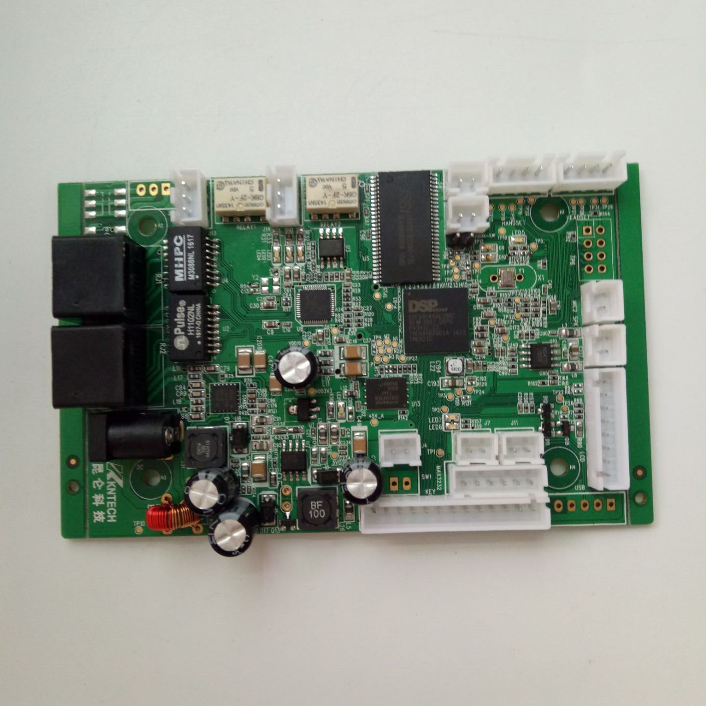 Voip Printed Circuit Board Prepreg Pcb For Telephones Kn518 What Is On A