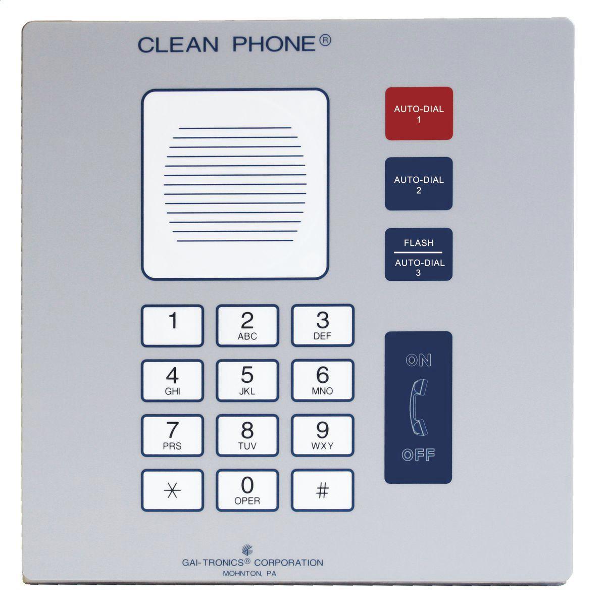 Hands-free telephone / analog / VoIP / PoE - 112-02-0418-00W - GAI ...
