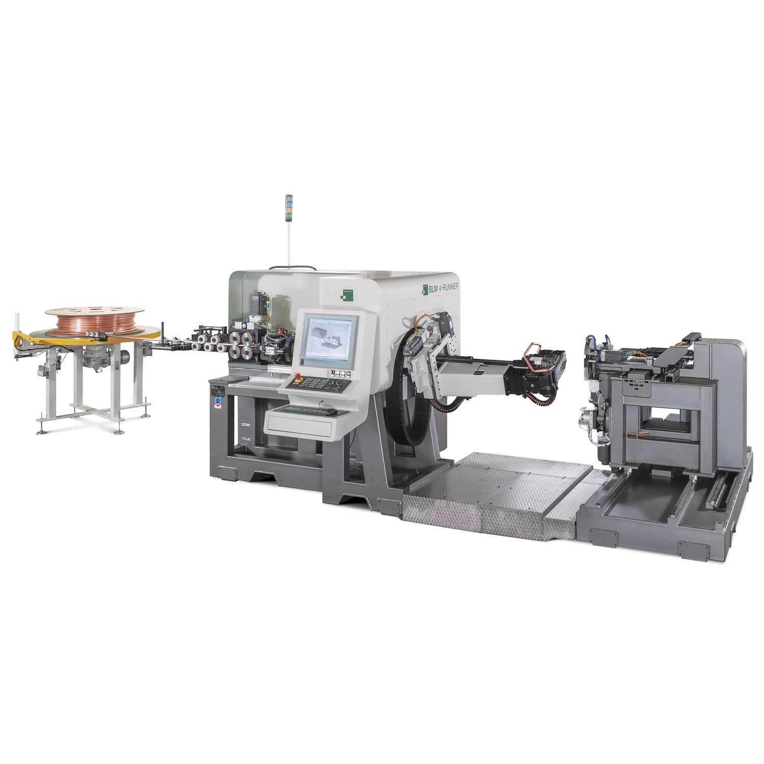 Electric bending machine / for tubes / CNC / rolling - 4-RUNNER ...