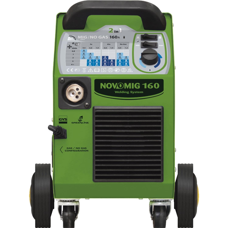 66ed49815b5021 MIG-MAG welder   single-phase   mobile - NOVOMIG 160 - GYS