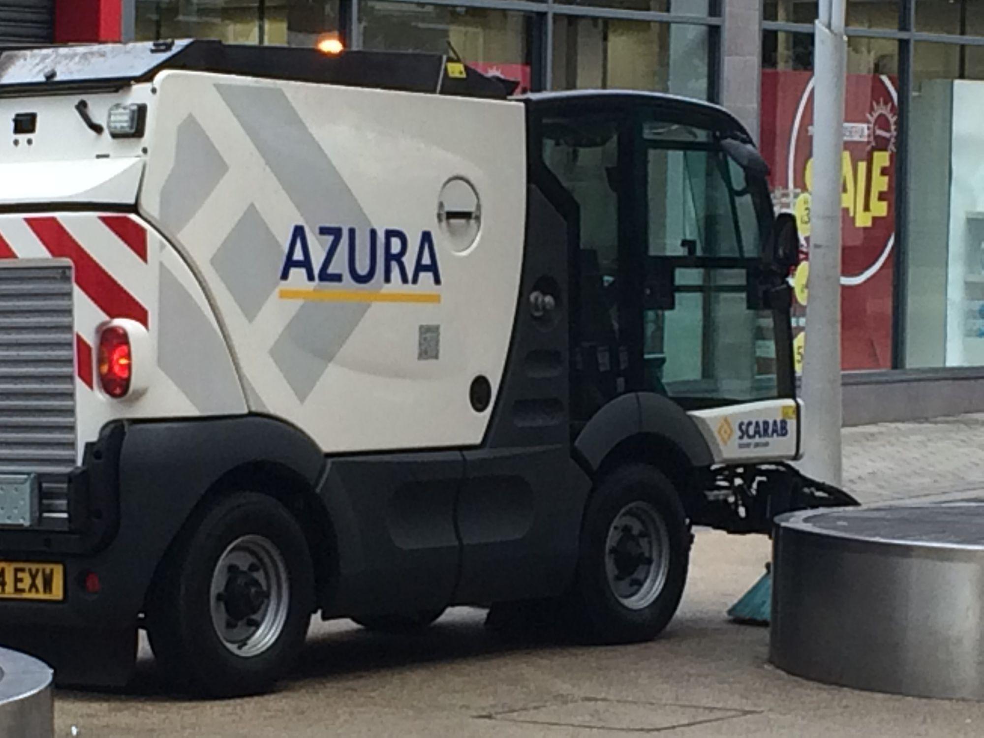 FCC Environmental purchase a Scarab Azura road sweeper.
