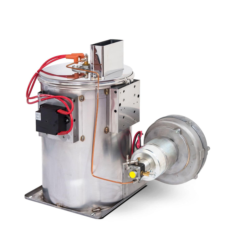 Hot water boiler / fuel oil / fire tube / vertical - MAZZONI