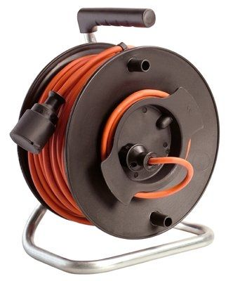 Cable Reel Manual Mobile Portable Electric For Lawn Mowers