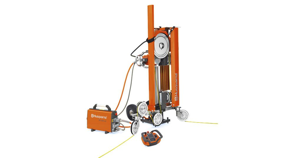 Wire saw / vertical / automatic - CS 10 - Husqvarna Construction ...