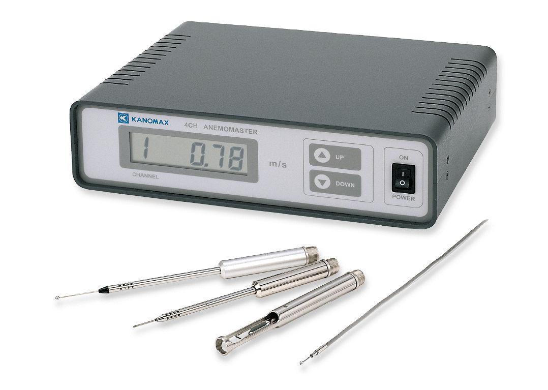 Hot-wire anemometer / multi-channel / digital - Model 1570 - Kanomax USA
