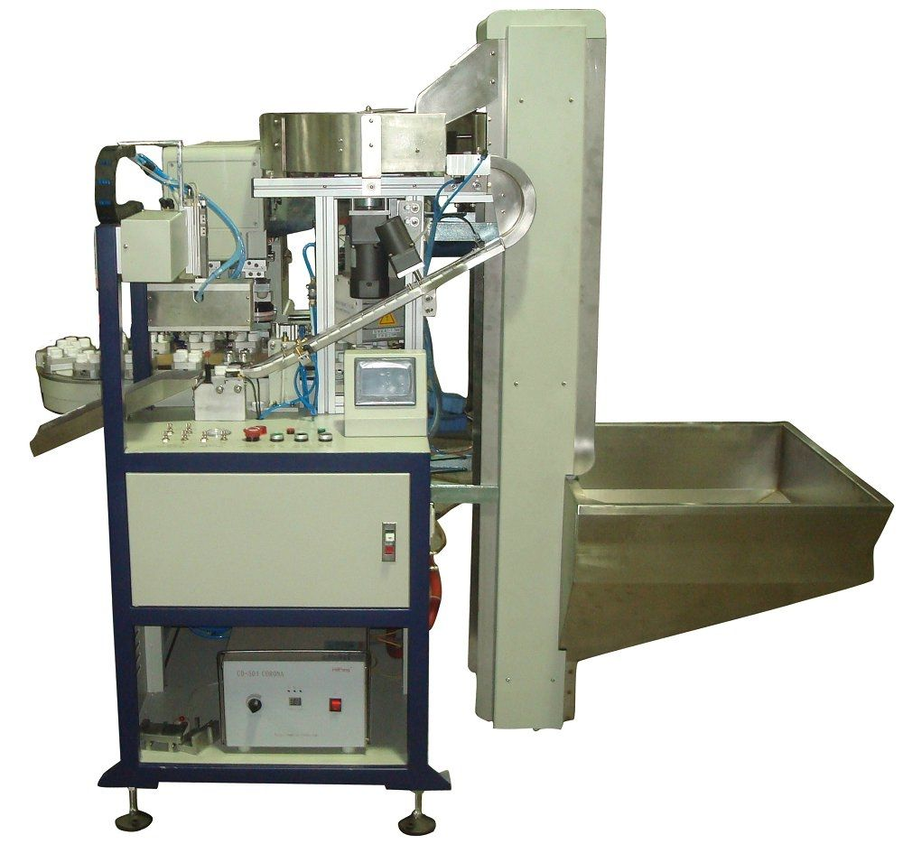 Pad printing machine with closed ink cup / automatic - AP200