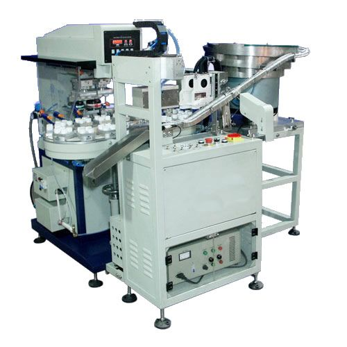 Pad printing machine with closed ink cup / automatic - AP100