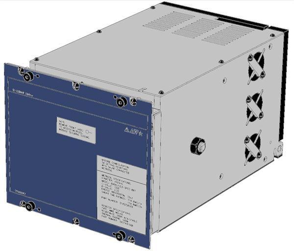 Voltage protection relay / three-phase / flush-mount