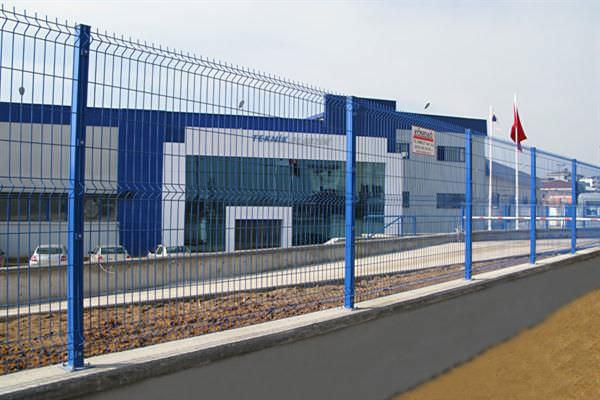 Welded panel fence - Yakut & Turkuaz - KOSEDAG MESH WIRE FENCE