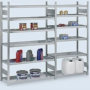 Modulare Regalsysteme storage warehouse shelving light duty adjustable modular max
