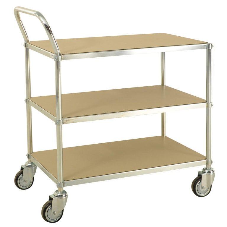 18d7e236e5410f Transport cart   metal   3 levels   multipurpose - AKM 173-ESDB ...