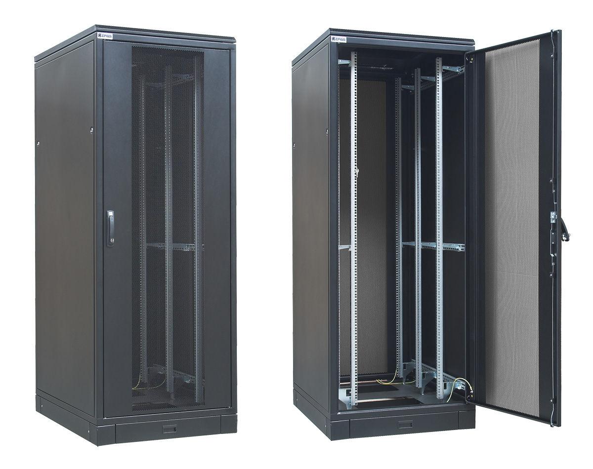 Electric cabinet / floor-mounted / 19 rack / metal - max. 47U 800 ...