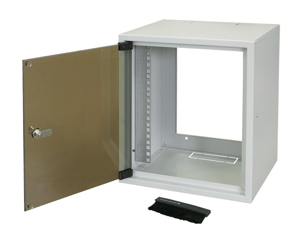 Storage cabinet / wall-mount / 10 rack / steel - 310 x 260 x 355 ...