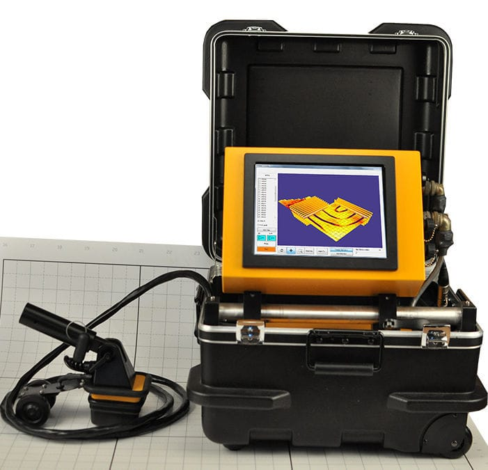 3D scanning system / laser - 2000 series - Sub-Surface