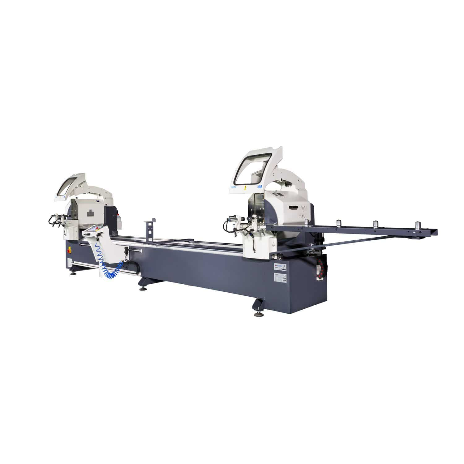 Metal Double Head Miter Saw For Plastics For Wood Gemini Iv