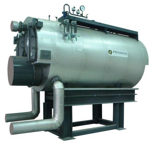 Superheated steam steam generator / water tube / three-pass - SF ...
