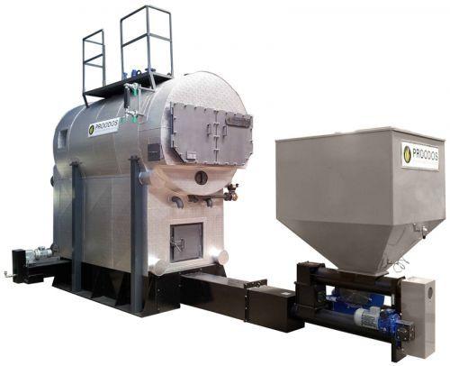 Superheated steam steam generator / natural gas / fuel oil / water ...