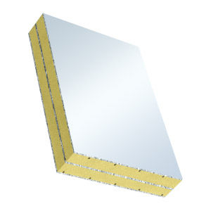 Polystyrene foam core sandwich panel / aluminum facing - ALU-XPS P6B