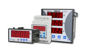 Digital Amp Meter Panel : Digital ammeter panel mount entes elektronik cihazlar İmalat ve