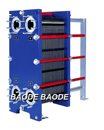 Gasketed plate heat exchanger / water/oil - BH Series - Baode heat ...