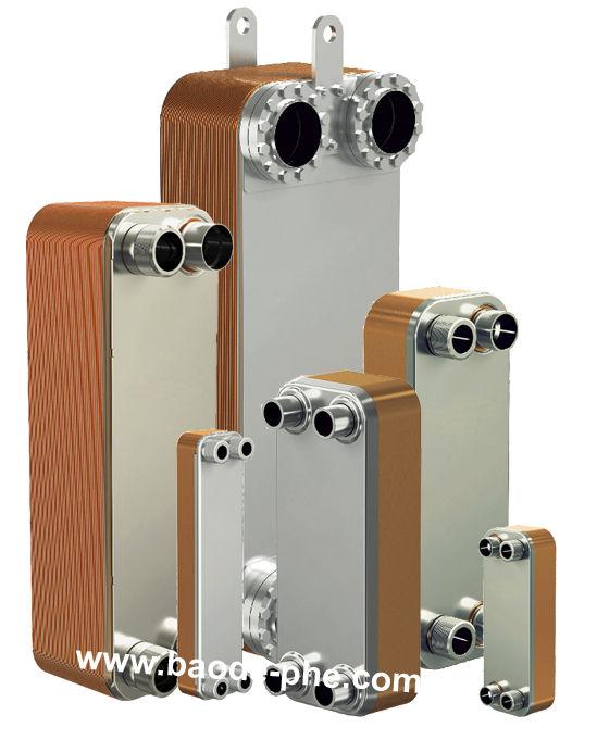 Brazed plate heat exchanger / liquid/liquid / copper - BL Series ...