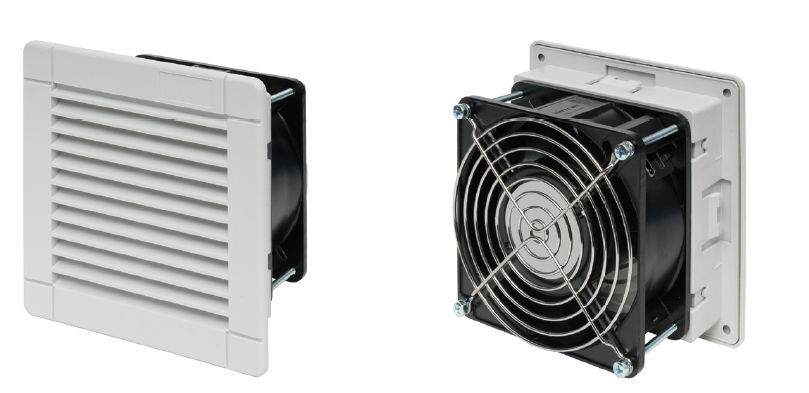 Electrical cabinet fan / axial / ventilation / filter - Alpha ...