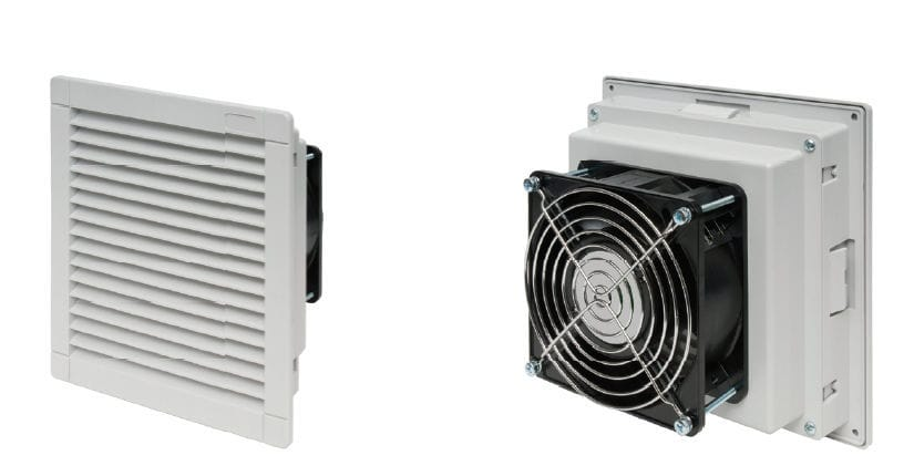 ... Electrical Cabinet Fan / Axial / Ventilation / Filter ...
