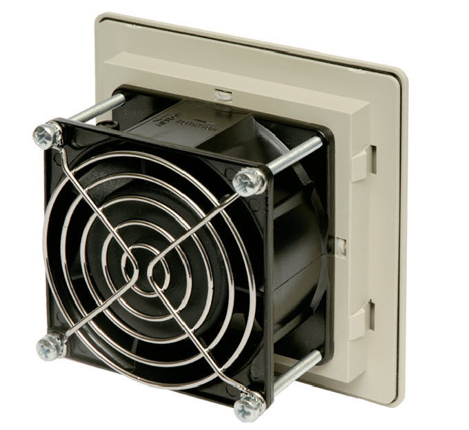 Electrical cabinet fan / axial / ventilation / filter - ALFAA ...