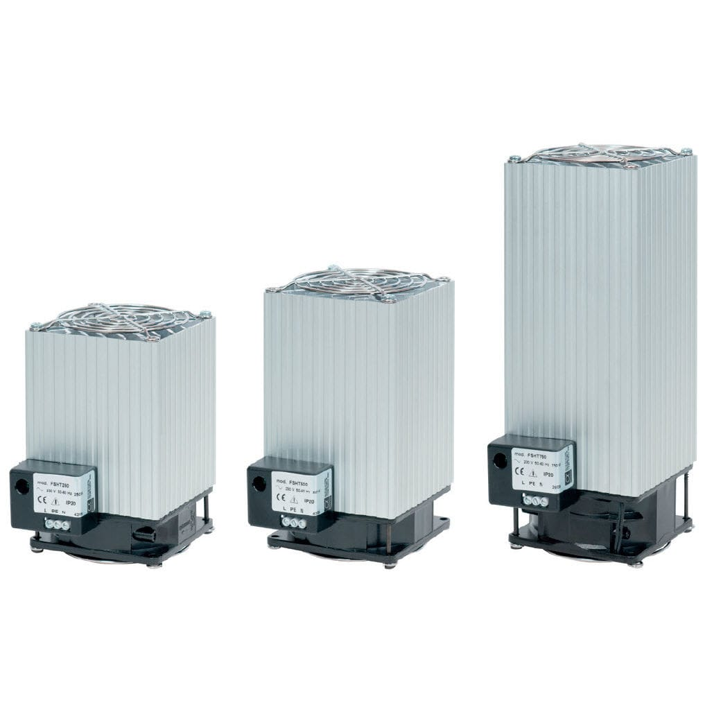 Fan Resistance Heater / With Thermostat / For Electrical Cabinets   FSHT  Series